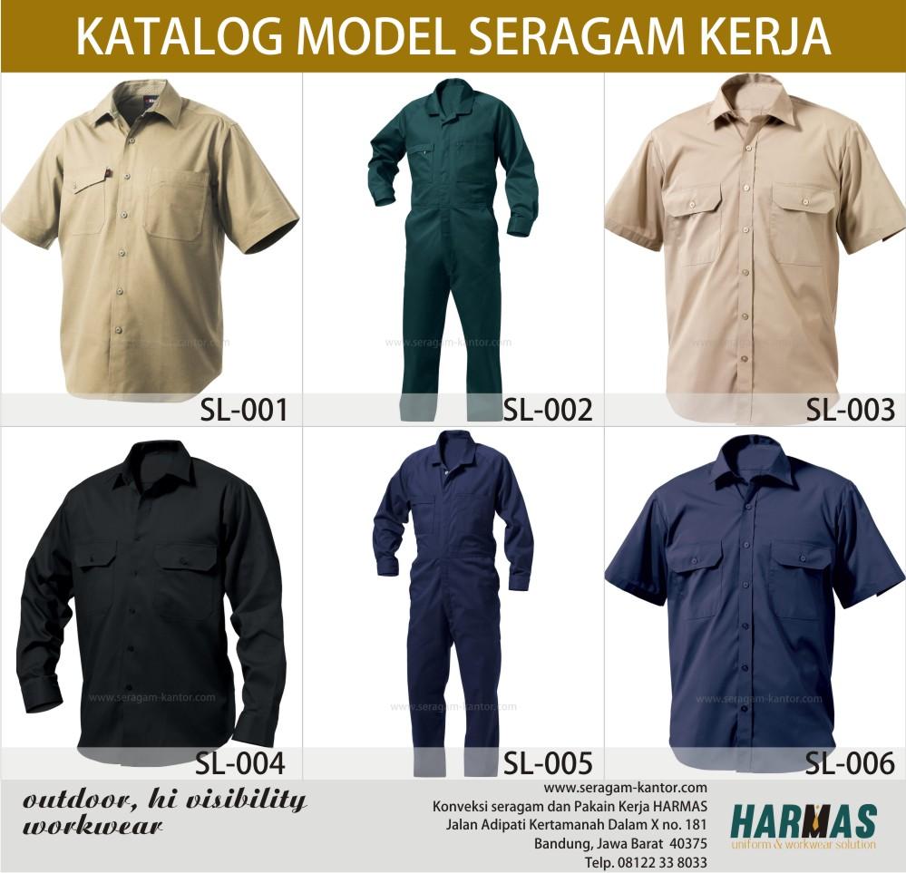 Contoh Baju Seragam Batik Sekolah: Konveksi Seragam Batik: Desain Seragam Karyawan