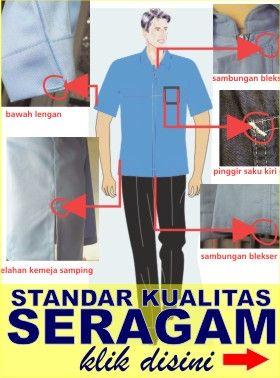 standar kualitas seragam