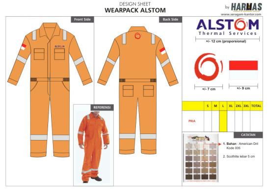 seragam wearpak