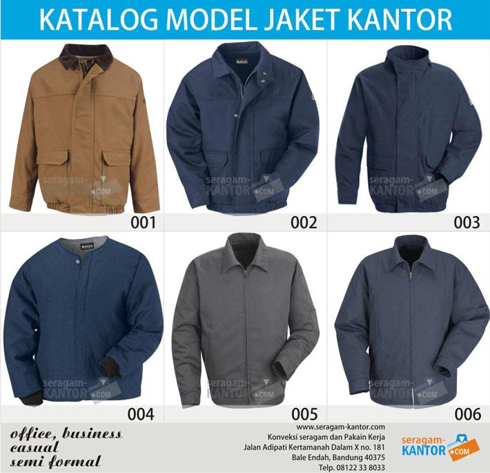 model jaket kantor